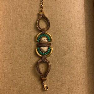 Stella & Dot Totem and Howlite bracelet